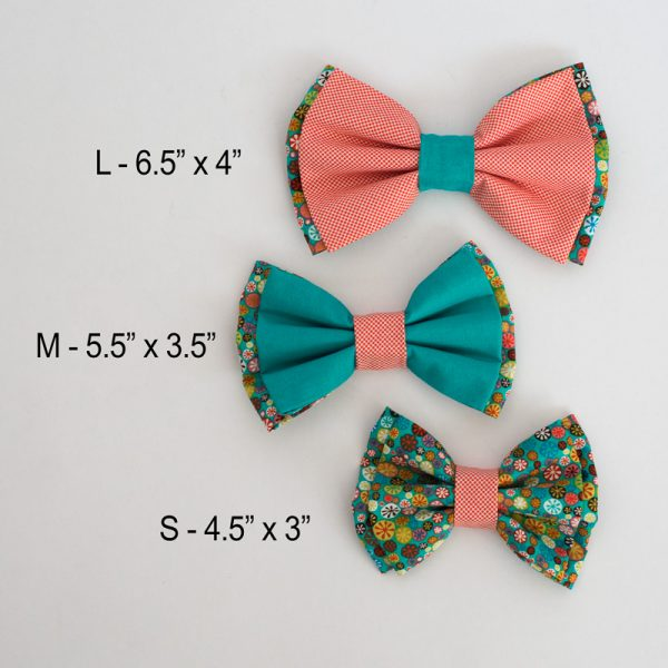 Furbulicious Pet Dog Accessories Bow Tie Flower Power