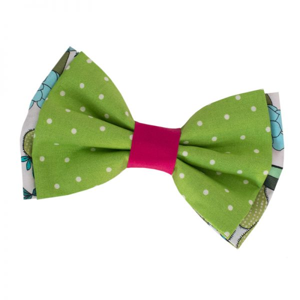 Furbulicious Pet Dog Accessories Bow Tie Cactus Garden