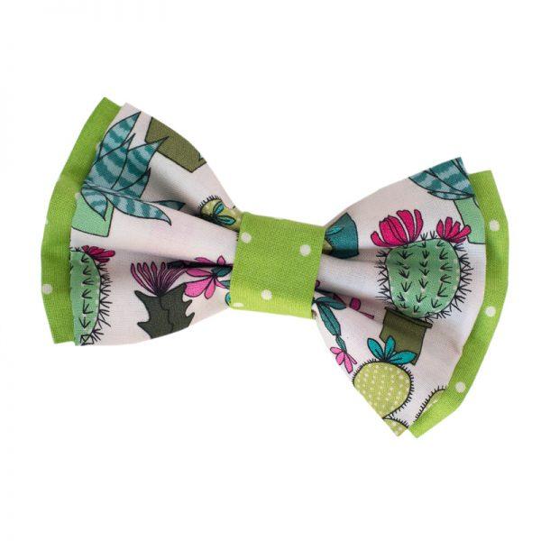 Furbulicious Pet Dog Accessories Bow Tie Cactus Garden