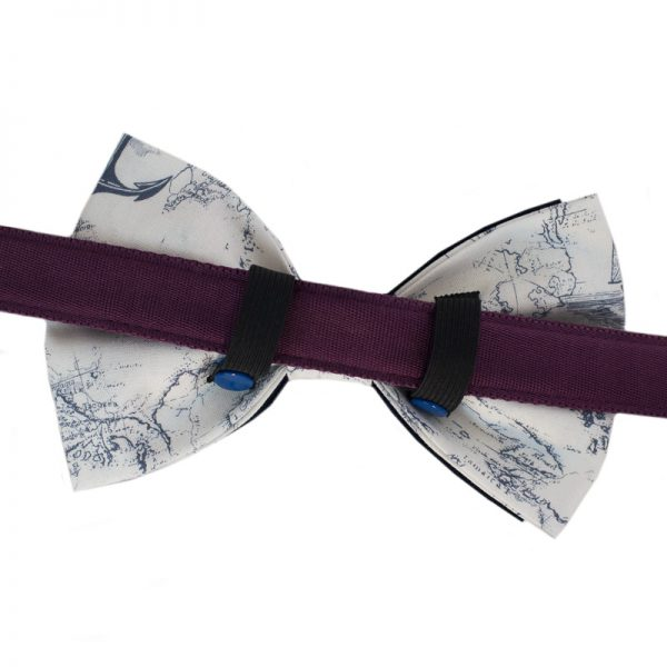 Furbulicious Pet Dog Accessories Bow Tie Naval Collection
