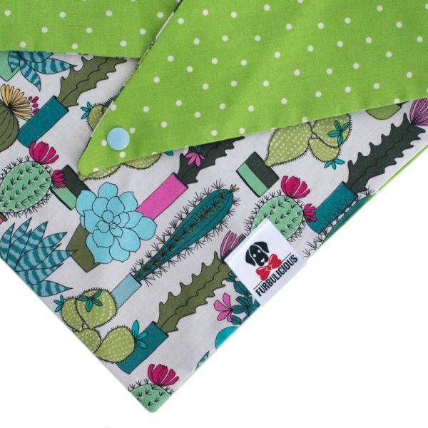 Furbulicious Pet Dog Accessories bandana Cactus Garden