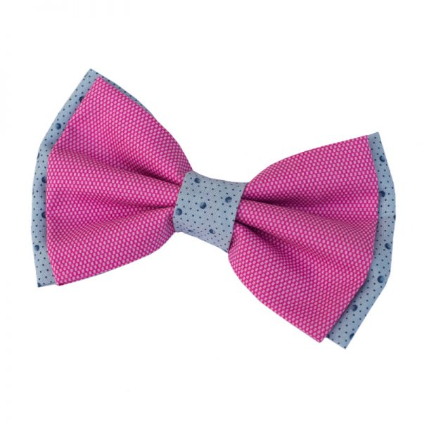 Furbulicious Pink Summer Fun Pet Dog Bow Tie Snap