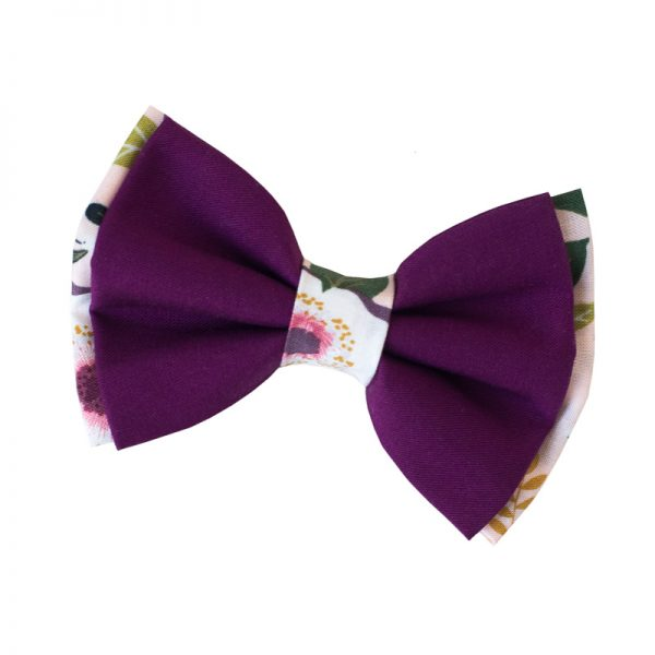 Furbulicious Pet Dog Accessories Bow Tie Flower Garden