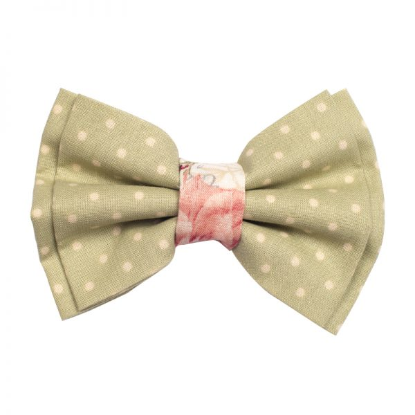 Furbulicious Pet Vintage Polka Dot Bow Tie for Dogs